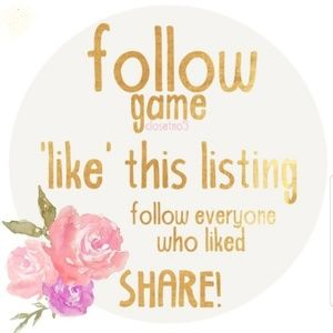 Dresses & Skirts - My First follow Game